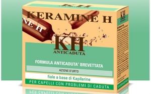 Tratament energizant impotriva caderii parului, cu actiune intensa - Kapilarine Keramine H 12 fiole x 6ml