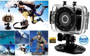 Camera Sport si Auto HD cu Touchscreen