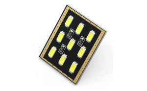 Led auto T10 Canbus tip placa cu 9 SMD