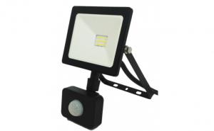 Proiector Led SMD Micro classical cu Senzor de Miscare  Spin 220V 50W  6400K  lumina rece