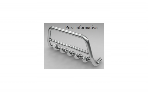 Bullbar inox compatibil NISSAN PATROL 1997-> COD: K27