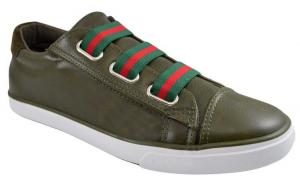 Pantofi Casual Barbati Verde Kaki cu