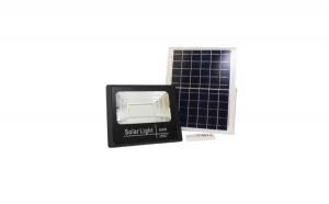 Proiector cu panou solar si telecomanda