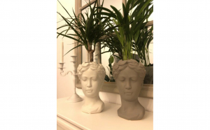 Vaza decor Venus, bust roman