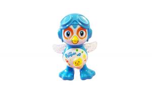 Jucarie interactiva,  Little Penguin dansatoar, canta si lumineaza, 172BZ