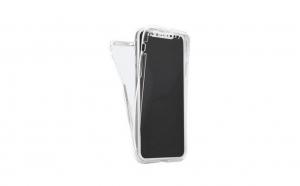 Husa 360 Grade Silicon Fata/Spate Iphone XR 6.1, Transparent