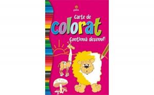Carte colorat
