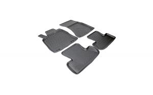 Covoare / Covorase / Presuri cauciuc stil tip tavita AUDI Q5 I 2008-2017 - NPL-Po-05-04 (Norplast)
