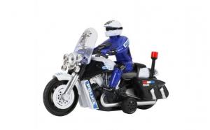 Motociclist politie cu sunete si lumini