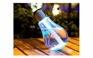 Umidificator de aer, cu lampa LED
