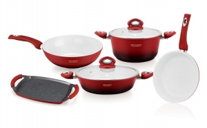 Set oale ceramica 9 Piese , Imperial Collection, IM-1009CR
