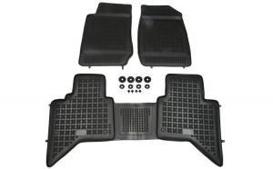 Set covorase cauciuc stil tavita Isuzu D-MAX II 06.12- pickup Rezaw