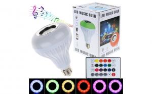Bec LED cu boxa 3W