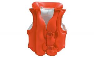 Vesta gonflabila inot pentru copii, 50x47 cm, portocaliu