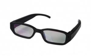 Ochelari cu camera spion foto-audio-video