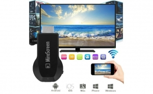 Stick wifi, display M2 Plus HDMI, Cortex 1.2 Ghz DDR3, Airmirror, DLNA, Airplay Miracast Mirascreen - conecteaza telefon/tableta/laptop cu televizorul wireless