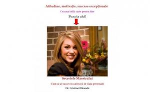 Cartea Secretele Maestrului - cum sa ai succes in cariera si in viata personala, personalizata cu poza persoanei care o primeste, la doar 69 RON in loc de 140 RON