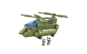Elicopter militar din caramizi