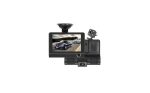 "Camera 3 in 1 pentru masina, display 4"", Full HD, design tip monitor, USB"