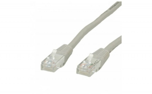 Cablu UTP Cat. 5e, gri, 10m, Value 21.99.0510