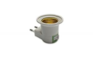 Stecher Cu Fasung E27, Intrerupator, Adaptor Priza, Ultra Bright