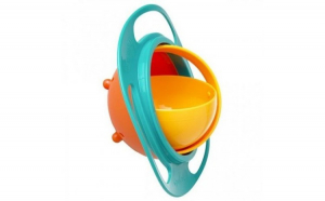 Castron rotativ 360° Leva Baby Bol, cu capac