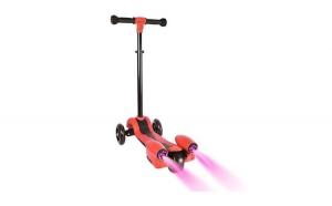 Trotineta copii Scooter Alien cu lumini, Totul pentru copilul tau, 5-7 ani