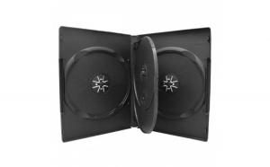 Carcasa plastic 4 DVD d14mm OMD