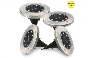 Lampi solare cu led 10 bucati, TeamDeals 10 Ani, Casa & Gradina