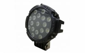 Proiector LED offroad 51W/12V-24V, 3.740 lumeni, negru