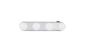 Lampa LED portabila pentru machiaj cu ventuze, plastic+metal