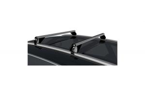 Set bare portbagaj aluminiu AUDI A4 B8