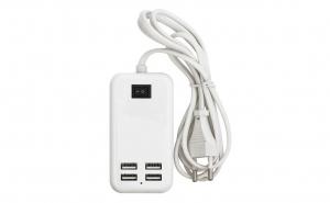 Incarcator USB 15W 3A cu cablu 4 x USB