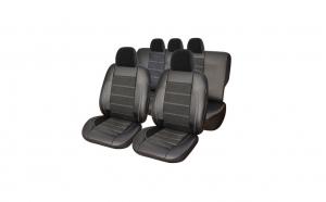 Set huse scaune Dacia Duster 2010--2017 exclusive leather & alcantara