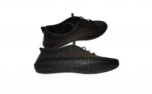 Pantofi dama din piele naturala decupata