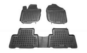 Set covorase cauciuc stil tavita Toyota RAV 4 III 11.05- Rezaw