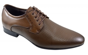 Pantofi barbatesti maro eleganti, Incaltaminte piele