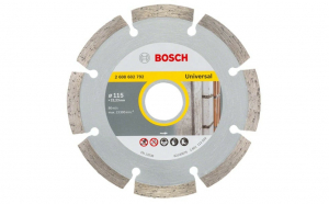 Disc diamantat universal Bosch, Ø115mm