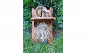 Aplica din lemn natur Hand Made
