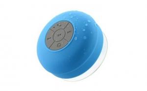 AquaMusic - Boxa wireless cu protectie la apa, albastru si verde, la 49 RON in loc de 105 RON
