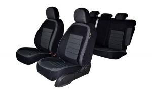 Set huse scaune dedicate Dacia Duster dupa 2018-->Prezent  (bancheta fractionata)