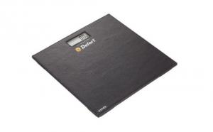 Cantar cu afisaj LCD 180kg -material din piele Defort DSL-180-L, la 45 RON in loc de 90 RON
