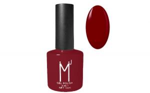 Oja semipermanenta 3 in 1, MJ Gel Polish, Nuanta 027 Dark Red, 10 ml