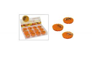 Set de  24 medalioane din ceara parfumata-aroma portocala