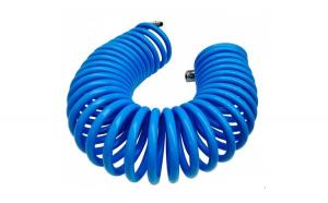 Furtun spiralat conectori aer comprimat