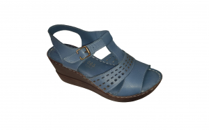Sandale dama piele naturala platforma