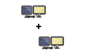 Set 2 x Proiector 100 LED cu panou