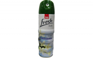 Odorizant de camera cu aerosol Sano Fresh Duo Jasmine & Sandal, 300 ml