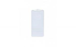 Folie de protectie din sticla securizata 5D pentru Iphone X, full cover, alb