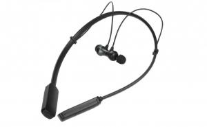 Casti sport bluetooth, tip colier, suport flexibil,  magnet, microfon stereo IPX4, HWS610